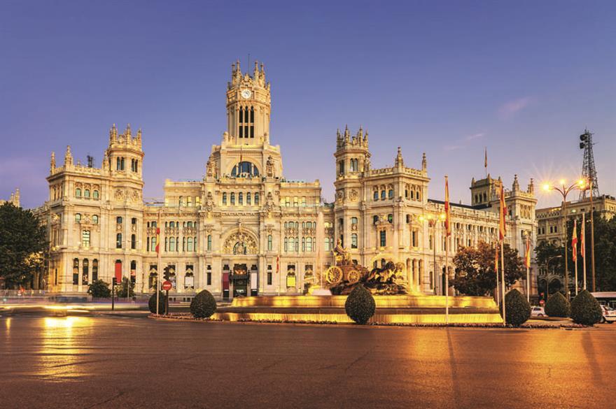 Cybele Palace, Madrid, Spain