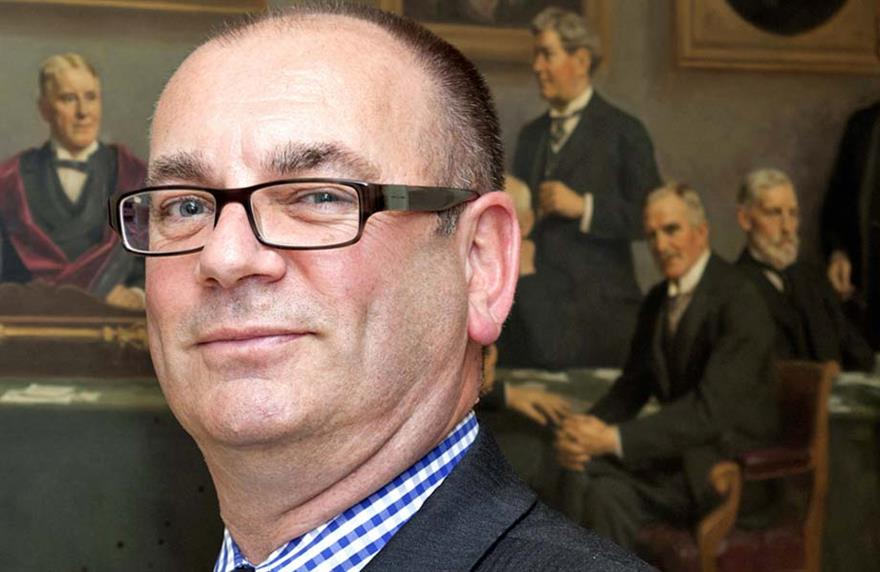 Professor Nicholas Gair, chief executive of the Association of Surgeons for Great Britain and Ireland