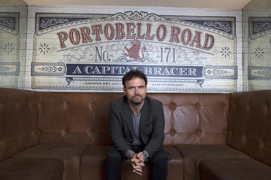 Ged Feltham, co-founder of Portobello Gin