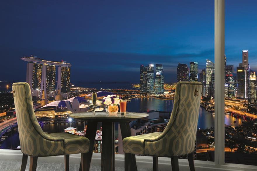 Pan Pacific, Marina Bay, Singapore