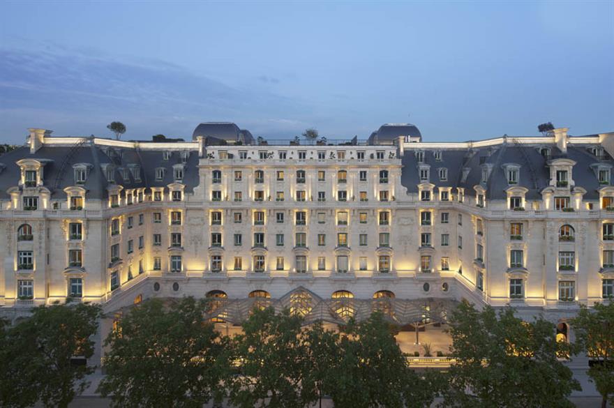 The Peninsula Paris hotel, France
