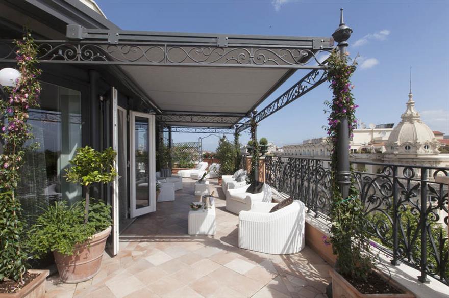 Regina Baglioni hotel, Rome