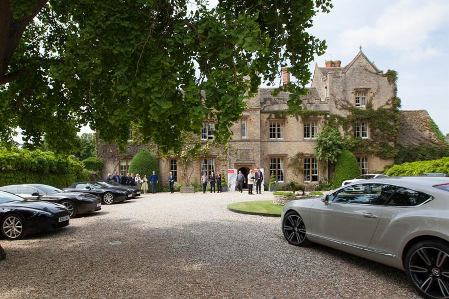 Santander's Oxford corporate business centre launch, The Manor at Weston-on-the-Green