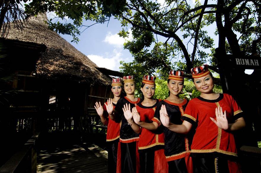 Sarawak Cultural Village, Borneo, Malaysia