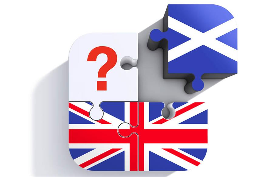 How would Scottish independence affect UK events?