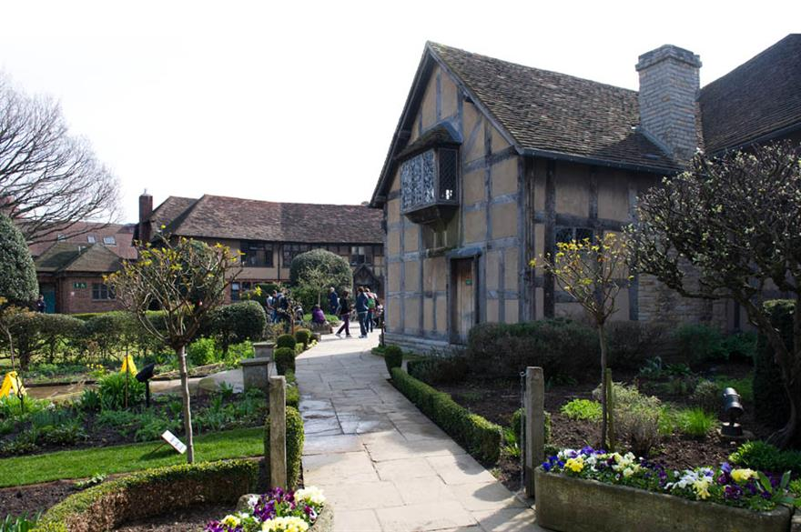 Famous Beyond Words, Shakespeare's house, Stratford-upon-Avon