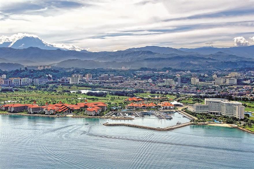 Sutera Harbour Resort, Kota Kinabalu, Borneo
