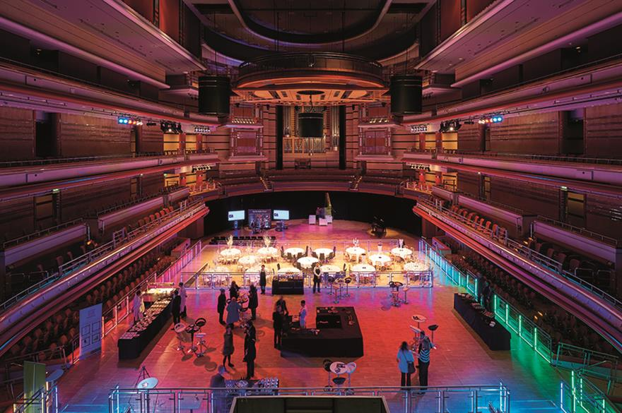 Symphony Hall, Birmingham (© Sylvain Deleu)