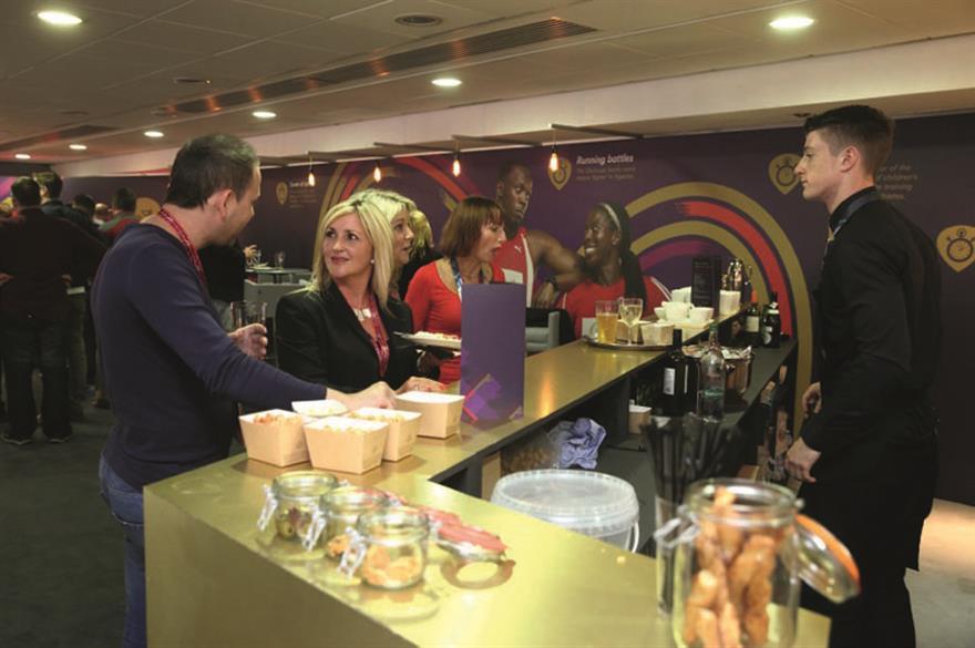 Virgin Media Games Lounge, Glasgow 2014