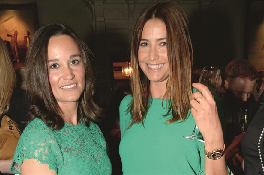 Pippa Middleton at Waitrose's 2014 summer party