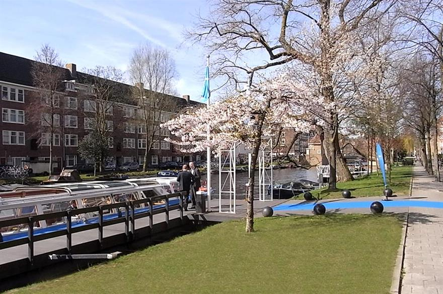 Wingas networks in Amsterdam