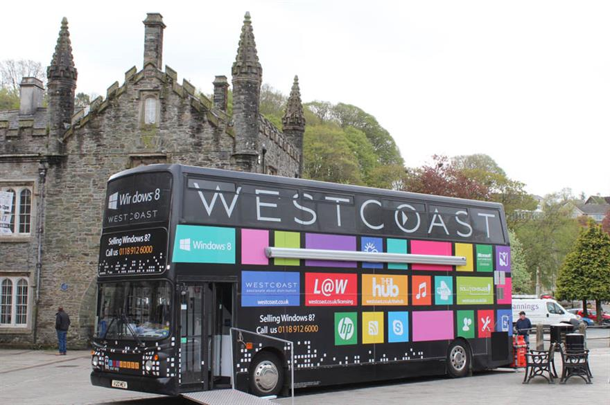 Westcoast Mobile Lab Windows 8 Roadshow by Corporate Innovations