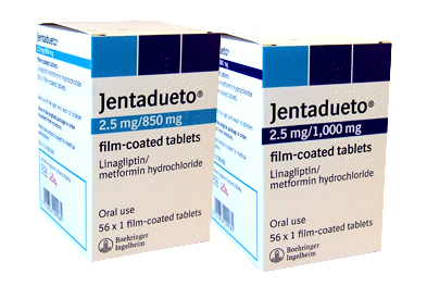 Jentadueto is a new single-tablet treatment option for type II diabetes, taken twice daily.