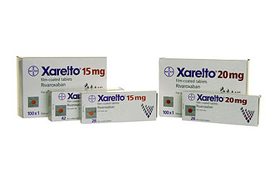 Xarelto (rivaroxaban) is taken orally once daily with food and does not require regular anticoagulation monitoring