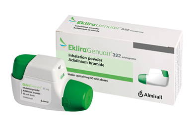 The COPD treatment aclidinium bromide (Eklira Genuair) is amongst the latest medicines approved for use in NHS Scotland.