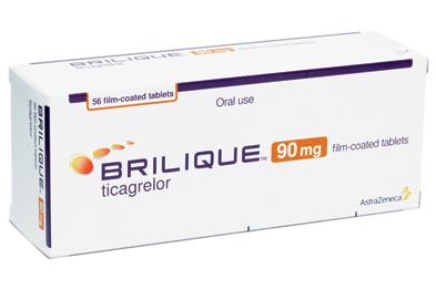 Brilique, a novel antiplatelet agent