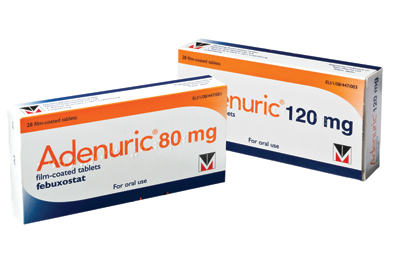 Febuxostat is also approved by NICE as an option for the management of chronic hyperuricaemia in gout if allopurinol is not tolerated or contraindicated.