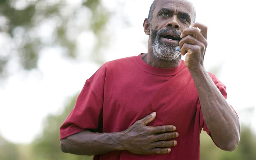 Trimbow is an option for adults who experience asthma exacerbations despite maintenance treatment with a LABA and ICS. | GETTY IMAGES