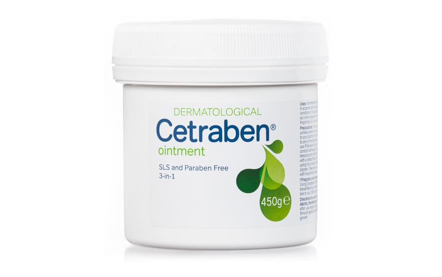 Cetraben Ointment is suitable for use when higher levels of hydration are required.