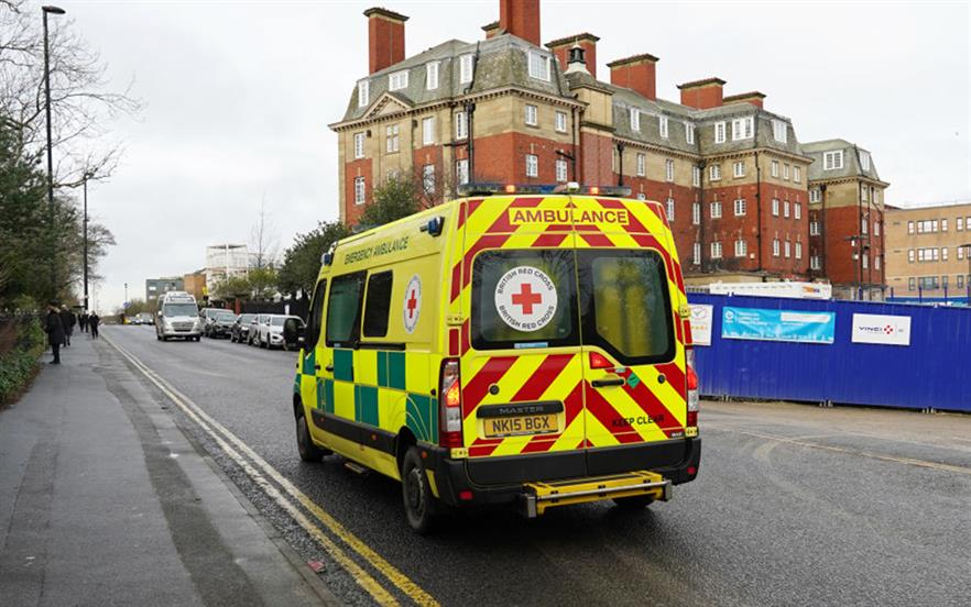 Patients with suspected coronavirus should be instructed not to use public transport or taxis to get to hospital.   GETTY IMAGES