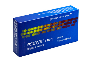 The active ingredient of Esmya, ulipristal acetate, is also licensed for use as an emergency contraceptive (EllaOne)