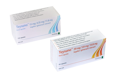 Effective contraception is required during and for 6 months after treatment with Teysuno