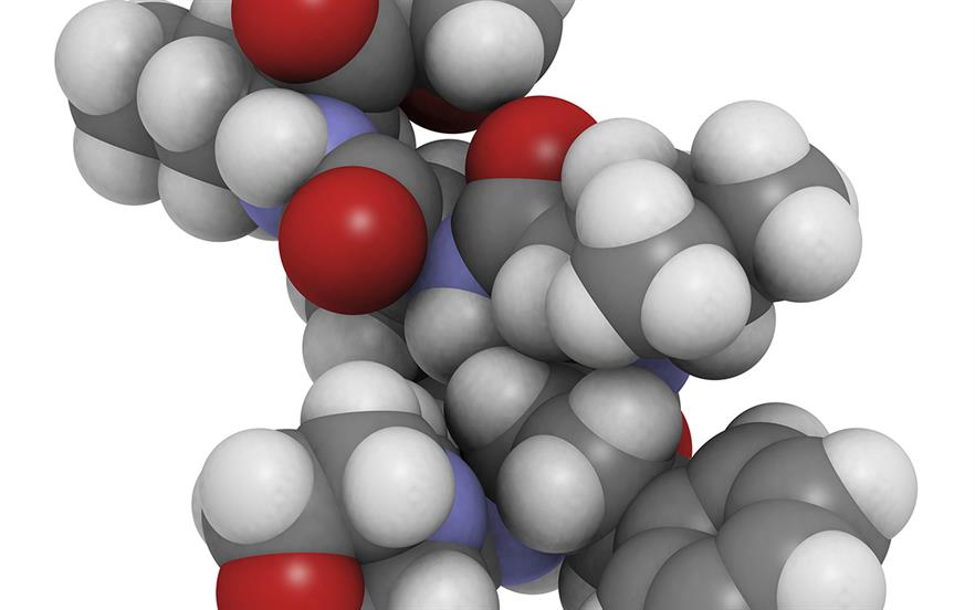 Carfilzomib is given by intravenous infusion together with oral lenalidomide and intravenous dexamethasone. | SCIENCE PHOTO LIBRARY
