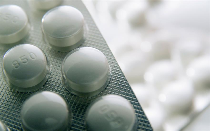 Metformin is the initial drug of choice for patients with type 2 diabetes and an HbA1c ≥6.5% | SCIENCE PHOTO LIBRARY