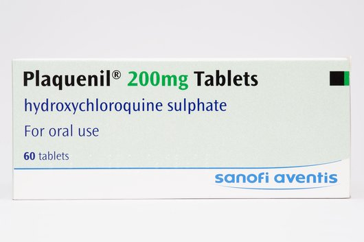 Clinical trials of hydroxychloroquine for the treatment and prevention of COVID-19 are ongoing. The brand Plaquenil is no longer available for prescribing in the UK. | SCIENCE PHOTO LIBRARY