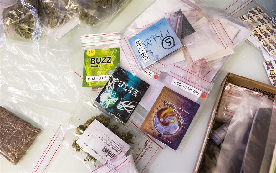 New psychoactive substances pose potentially serious risks to health. | SCIENCE PHOTO LIBRARY