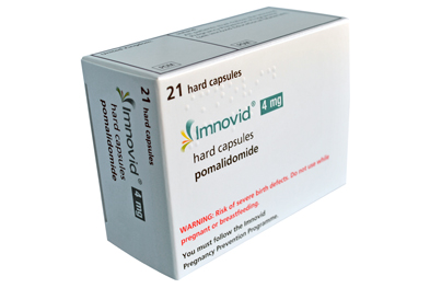 Imnovid is given as 4mg once daily on days 1—21 of repeated 28-day cycles, with the dose adjusted according to response