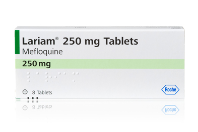 Lariam (mefloquine) is effective for the treatment and prophylaxis of malaria in most parts of the world