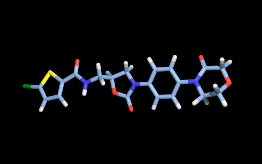 Rivaroxaban is a selective direct factor Xa inhibitor. | SCIENCE PHOTO LIBRARY
