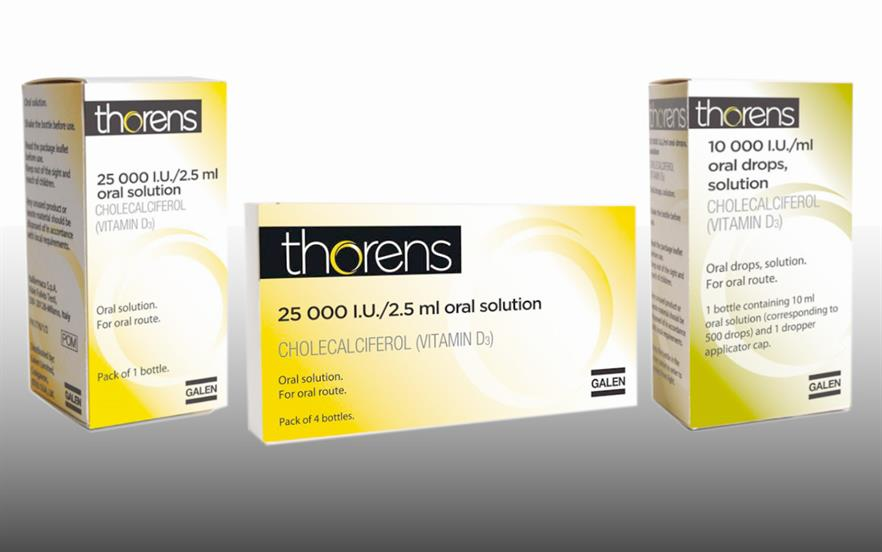 Thorens (colecalciferol) should preferably be taken with a meal.