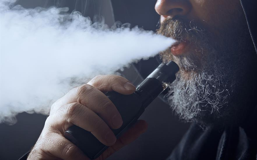 PHE has previously advised that while not completely risk free, UK regulated e-cigarettes carry a fraction of the risk of smoked tobacco. | GETTY IMAGES