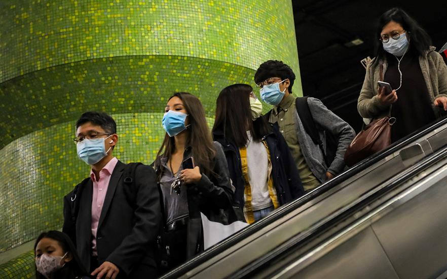 PHE says that if the infection does present in the UK, it is most likely to occur in travellers who have recently returned from Wuhan and advises clinicians to take an accurate travel history. | GETTY IMAGES