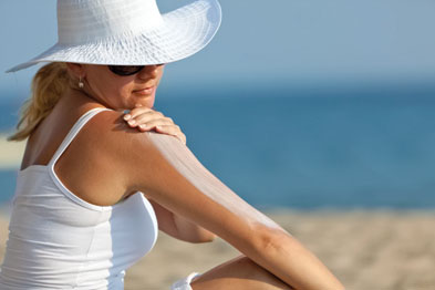 Sunscreen has been shown to protect against skin cancer (Photograph: iStock)