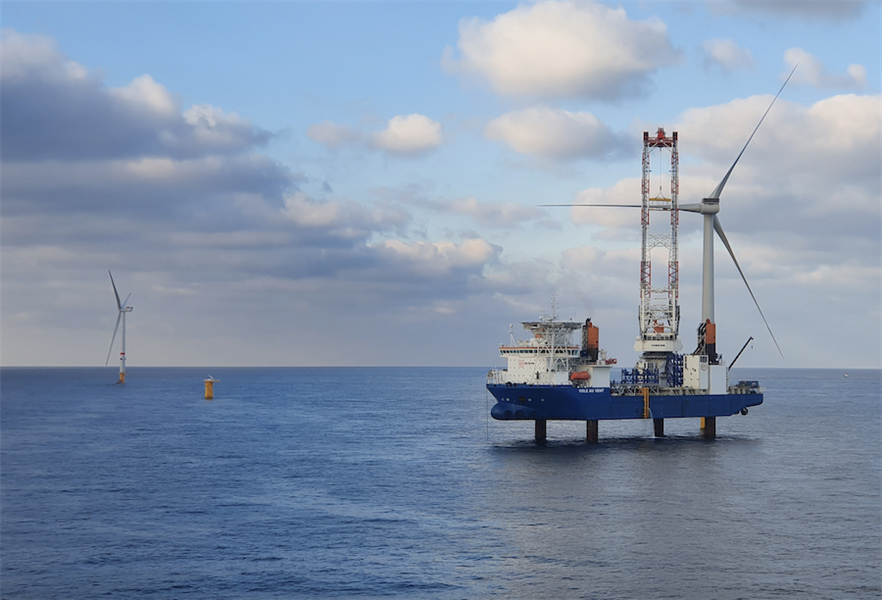 Deliveries to Parkwind's Northwester 2 project off Belgium was MHI Vestas' main source of H2 revenue.