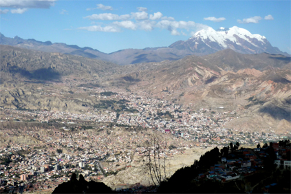 La Paz is one the regions where Bolivia is planning to develop wind projects