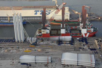 Dunkerque was used in the development of the Thanet offshore wind farm