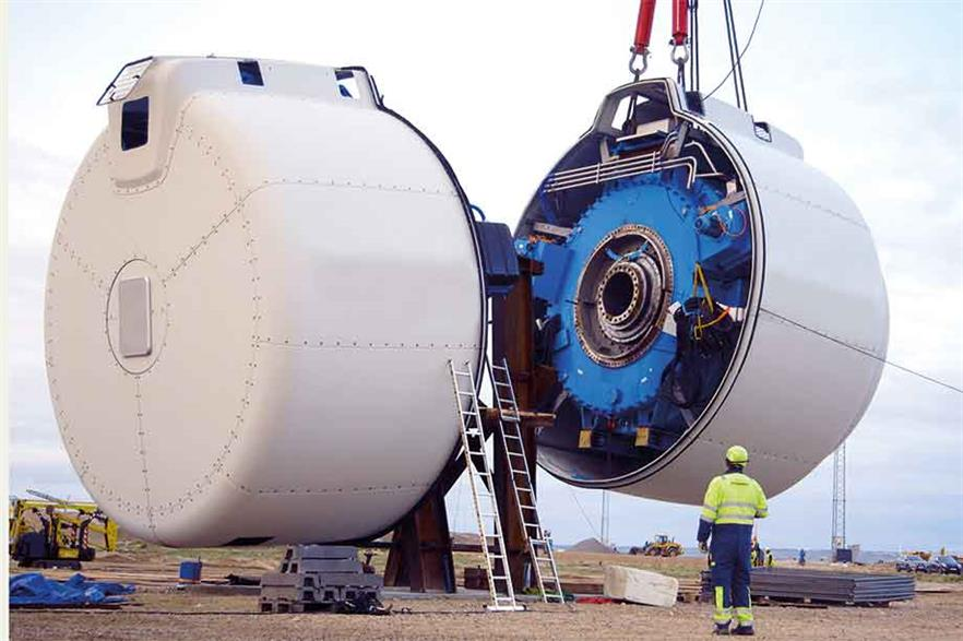 Breakthrough… EcoSwing's high-temperature superconductor is now operating in a 3.6MW Envision modular demonstration turbine in Denmark
