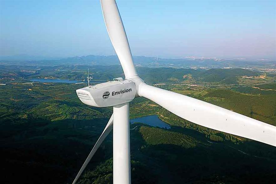 Low wind… Envision is looking beyond the Chinese market with its EN141-2.5 turbine