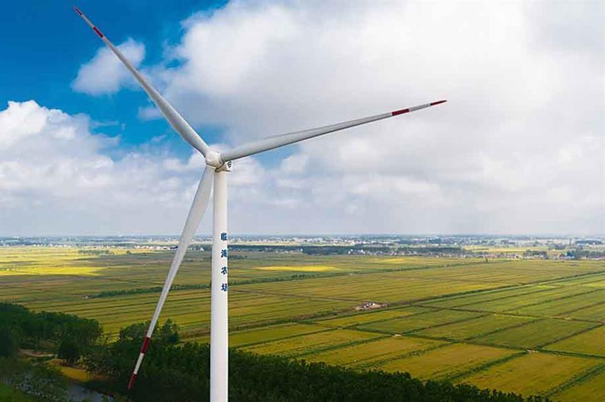 Global leader… Goldwind's GW115-2.0MW was last year's top-selling turbine