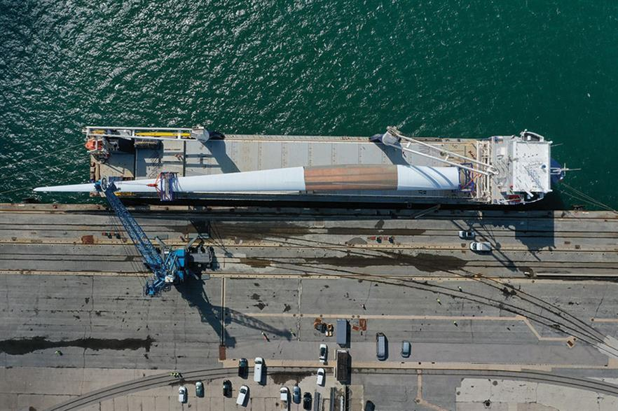 Long load… LM's 107-metre blade for GE Haliade-X 12MW offshore turbine delivered for testing