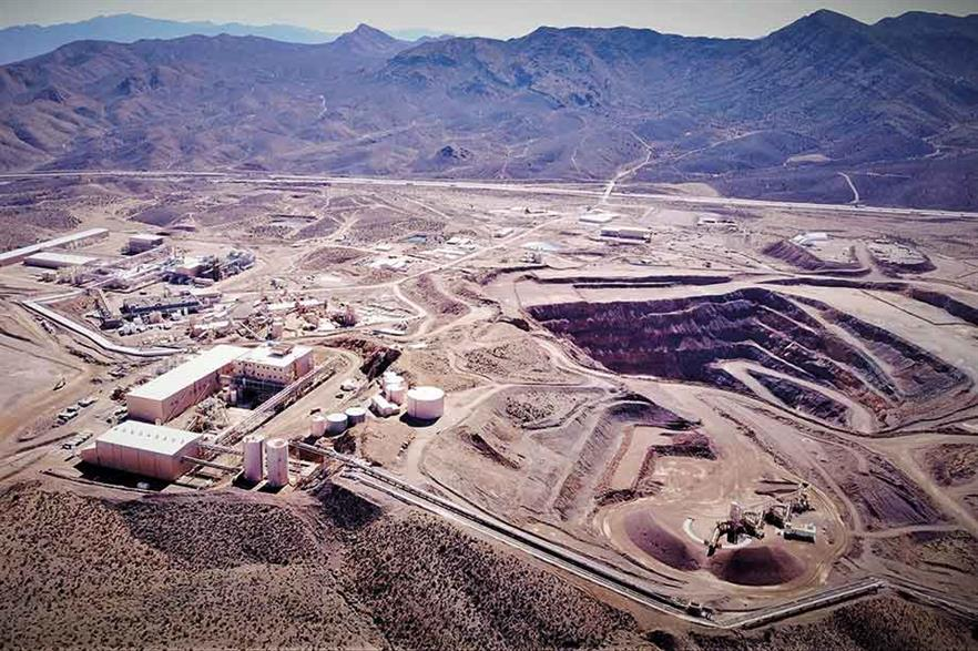 Resurrected… The Mountain Pass mine in California reopened last year after the previous owner went bankrupt (pic: MP Materials)
