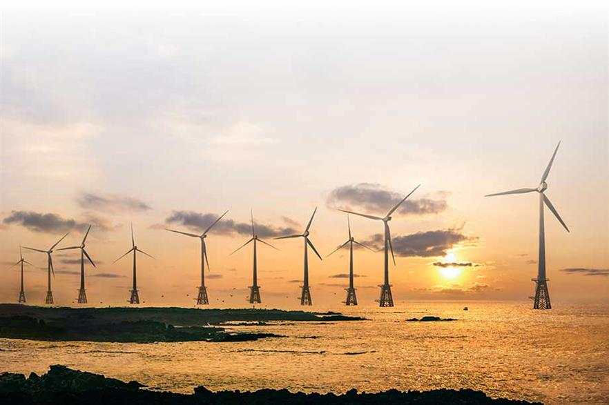 The 30MW Tamra project was installed this year off jeju island, whic is aiming to be carbon-free by 2030 (pic: Korea South East Power Company)