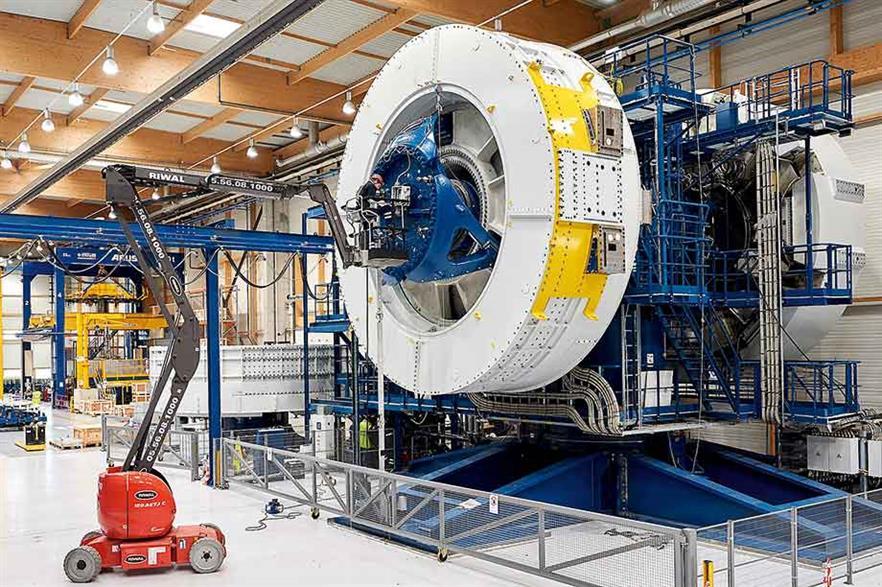 GE's 6MW Haliade turbine