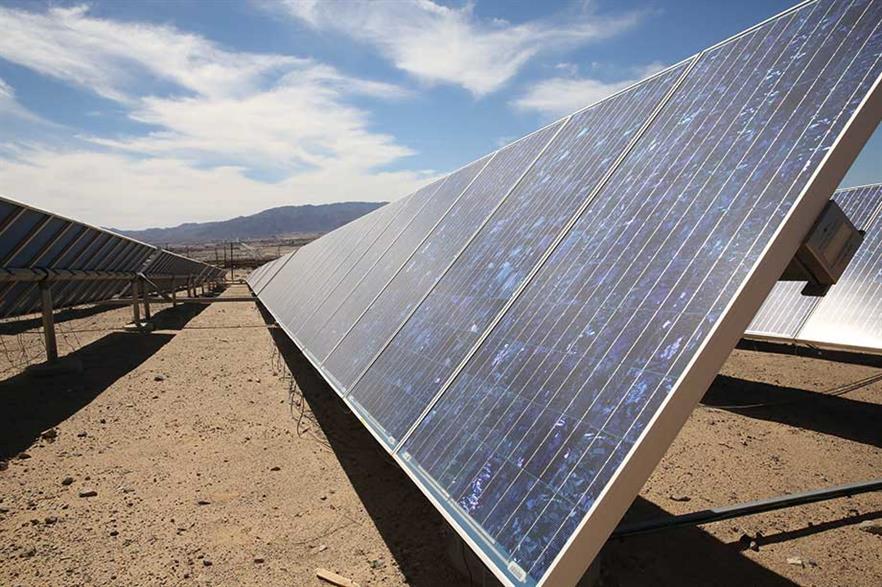 The US has far more solar-plus-storage than wind-hybrid capacity