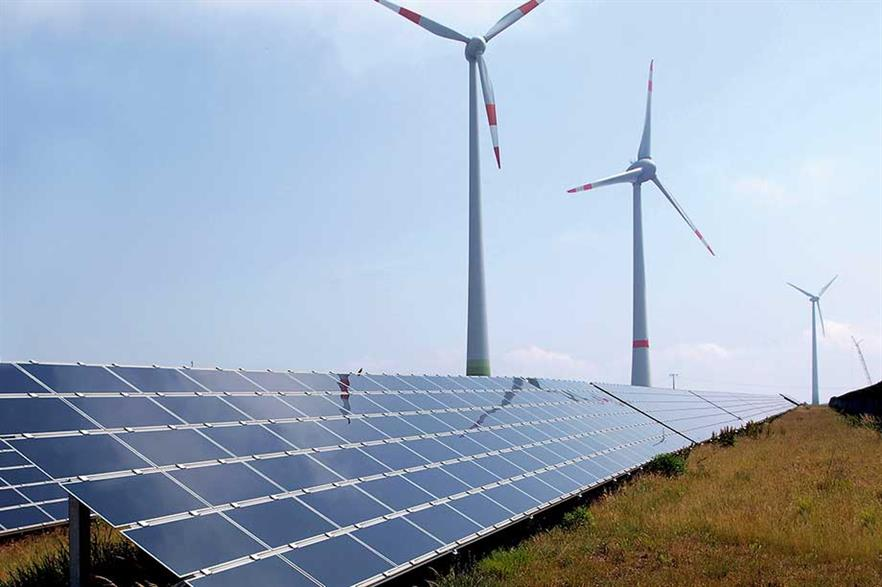 Combined renewables… Solar and wind energy are already deployed together in other countries (pic: Armin Kübelbeck)