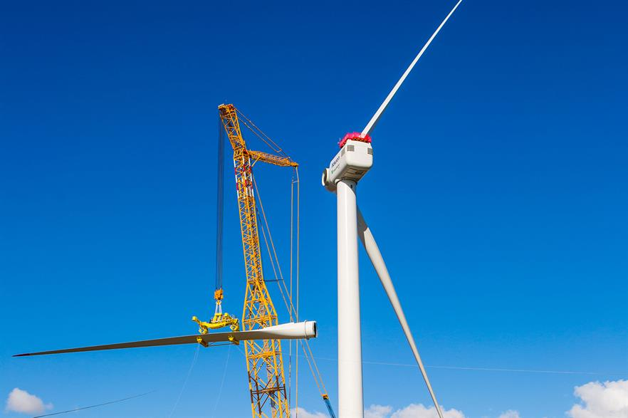 Adwen's 8MW prototype in Bremerhaven, Germany. Production of the turbine now seems unlikely